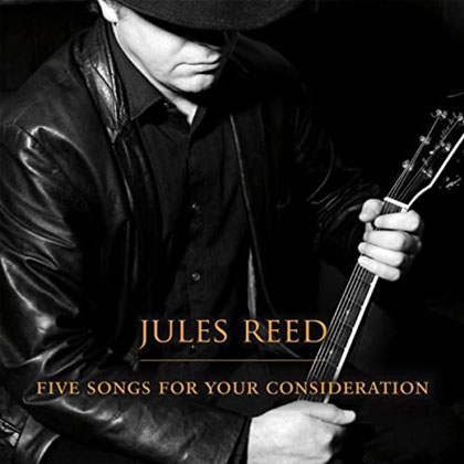 Five Songs for Your Consideration - CD by Edinburgh singer Jules Reed