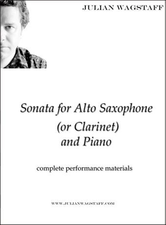 Sonata for Saxophone or Clarinet - from Julian Wagstaff