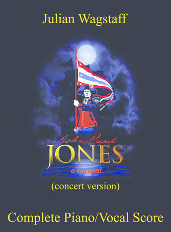 John Paul Jones musical - sheet music from Julian Wagstaff