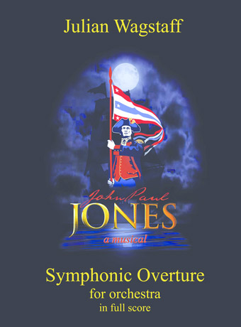 Symphonic Overture - sheet music from British contemporary composer Julian Wagstaff