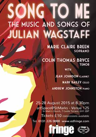 Song to Me - a revue by Scottish composer Julian Wagstaff
